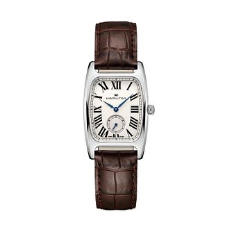 Hamilton American Classic Boulton Small Second Strap Watch - Product number 1251988
