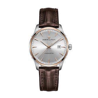 Hamilton Jazzmaster Quartz Leather Strap Watch - Product number 1252054