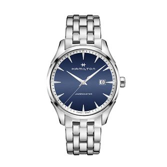 Hamilton Jazzmaster Quartz Stainless Steel Bracelet Watch - Product number 1252062