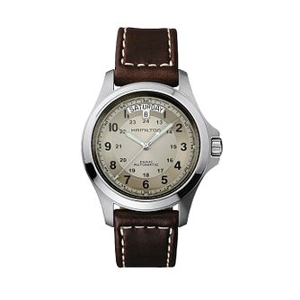 Hamilton Khaki Field King Automatic Strap Watch - Product number 1252267