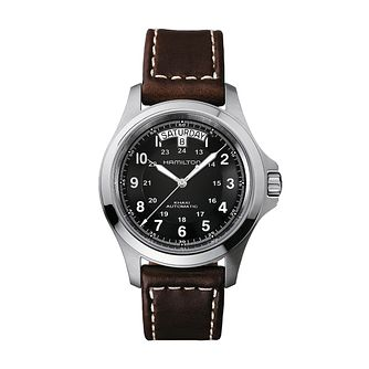 Hamilton Khaki Field King Automatic Strap Watch - Product number 1252275