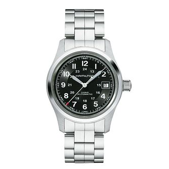 Hamilton Khaki Field Auto Stainless Steel Bracelet Watch - Product number 1252399