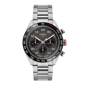 TAG Heuer Carrera Porsche Stainless Steel Bracelet Watch - Product number 1256629