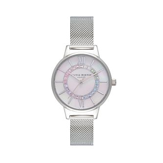 Olivia Burton Sparkle Wonderland Stainless Steel Watch - Product number 1256726