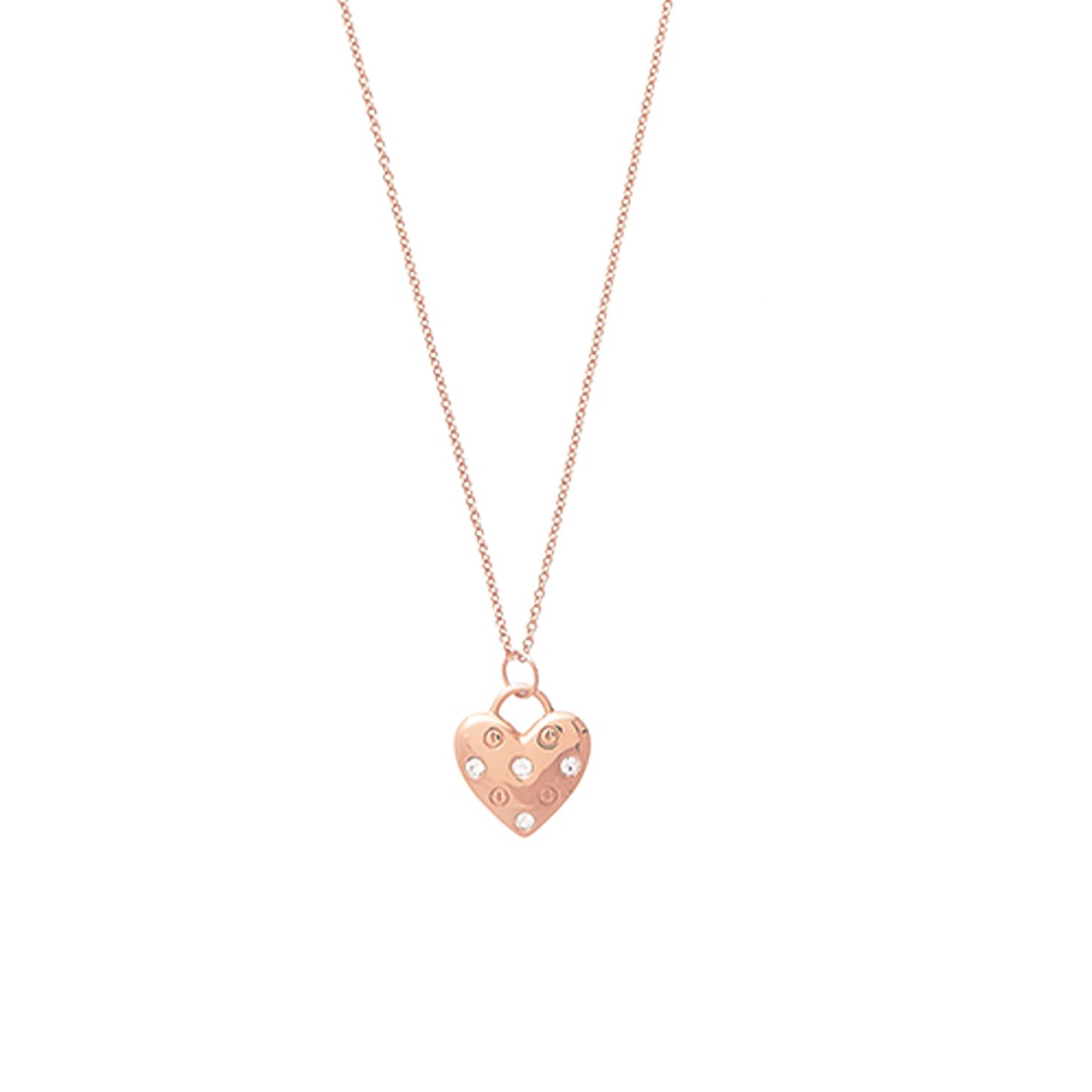 Olivia Burton Classic Heart Rose Gold Tone Necklace - Product number 1256858