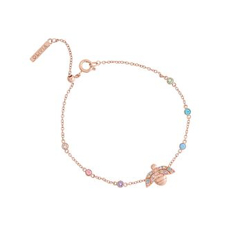 Olivia Burton Rainbow Bee Rose Gold Tone Bracelet - Product number 1256866