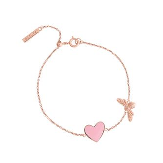 Olivia Burton You Have My Heart Rose Gold Tone Bracelet - Product number 1256874