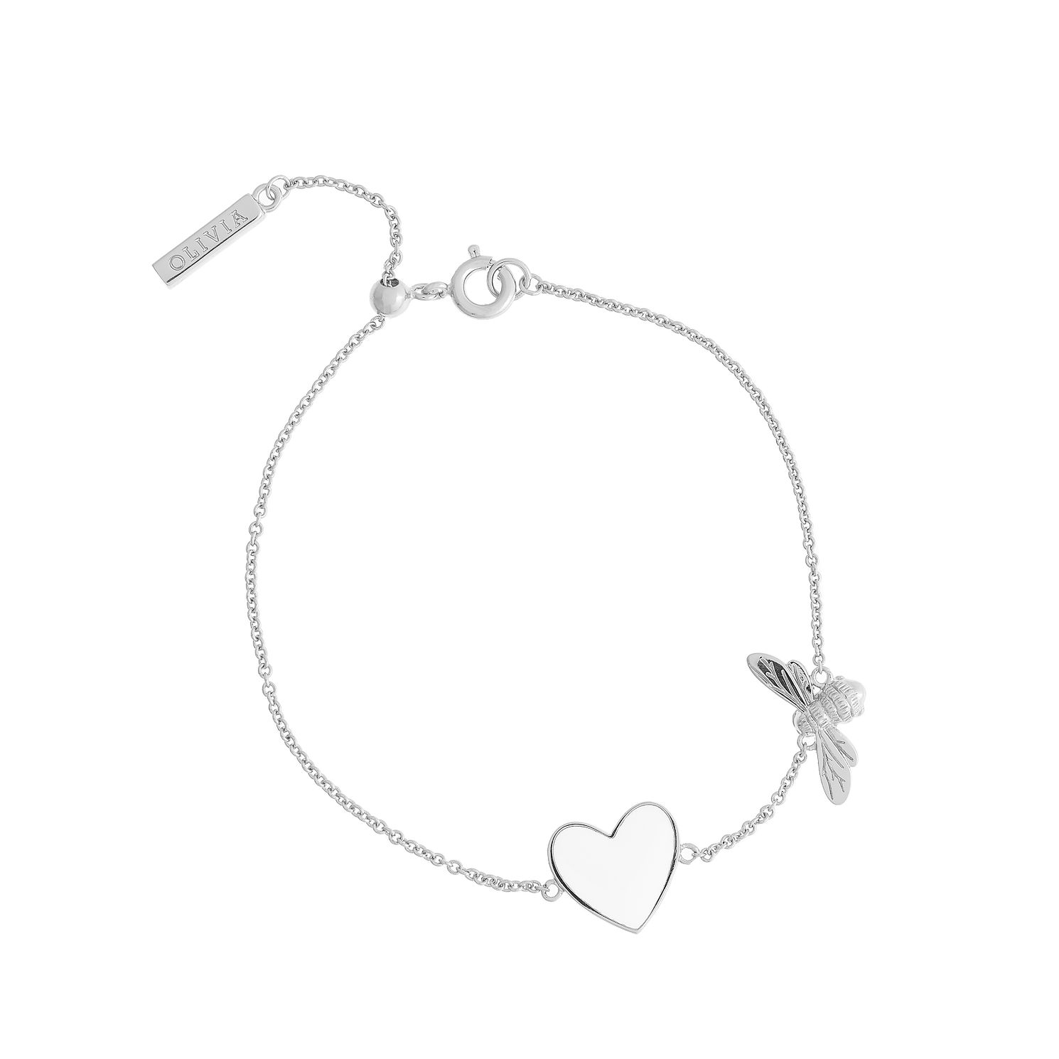 Olivia Burton You Have My Heart Silver Tone Bracelet - Product number 1256882
