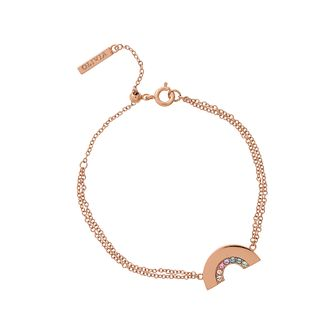 Olivia Burton Rainbow Rose Gold Tone Bracelet - Product number 1256890