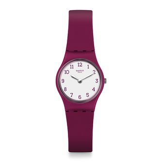 Swatch Redbelle Unisex Red Silicone Strap Watch - Product number 1259873