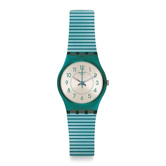 Swatch Phard Kissed Unisex Blue Silicone Strap Watch - Product number 1259881