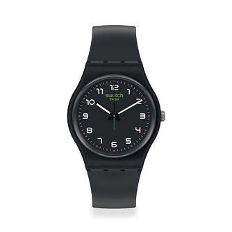 Swatch Masa Unisex Black Strap Watch - Product number 1260065