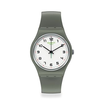 Swatch Isikhathi Unisex Grey Strap Watch - Product number 1260073