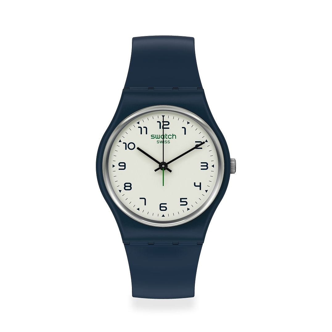 Swatch Sigan Unisex Blue Strap Watch - Product number 1260081