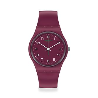 Swatch Wakit Unisex Red Strap Watch - Product number 1260103