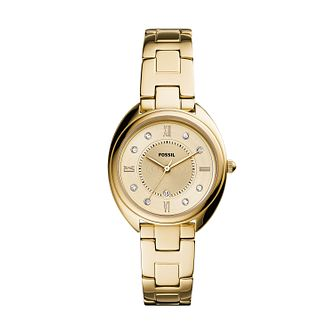 Fossil Gabby Ladies' Yellow Gold Tone Bracelet Watch - Product number 1265261