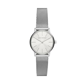 Armani Exchange Ladies' Stainless Steel Mesh Bracelet Watch - Product number 1265431