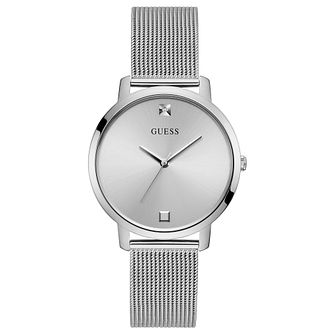 Guess Nova Ladies' Stainless Steel Mesh Bracelet Watch - Product number 1266152