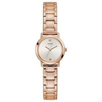 Guess Mini Nova Ladies' Rose Gold Tone Bracelet Watch - Product number 1266179