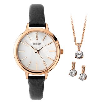 Sekonda Crystal Ladies' Watch Gift Set (RRP £59.99) - Product number 1266675