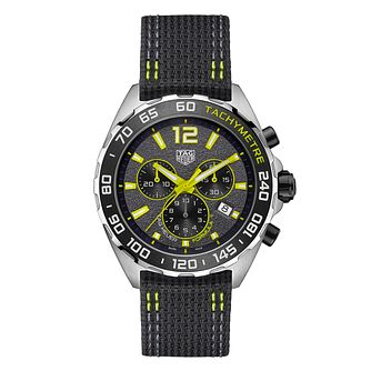 TAG Heuer Formula 1 Men's Black Fabric Strap Watch - Product number 1266918
