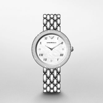 Emporio Armani Ladies' Stainless Steel Bracelet Watch - Product number 1267140