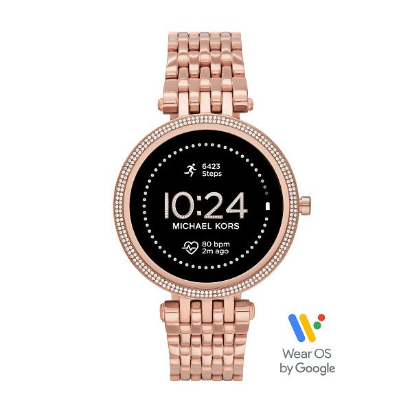 Michael Kors Access Gen 5E Darci Rose Gold Tone Smartwatch - Product number 1267183