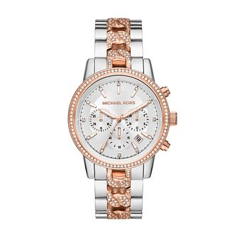 Michael Kors Ritz Ladies' Two Tone Bracelet Watch - Product number 1267264