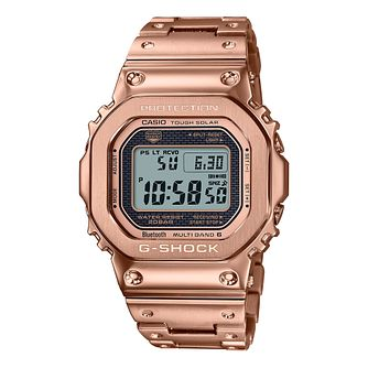 Casio G-Shock Full Metal Men's Rose Gold Tone Bracelet Watch - Product number 1267280