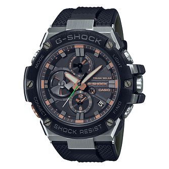 Casio G-Steel Luxury Military Men's Black Rubber Strap Watch - Product number 1267310