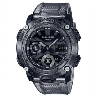 Casio G-Shock Skeleton Men's Grey Rubber Strap Watch - Product number 1267329