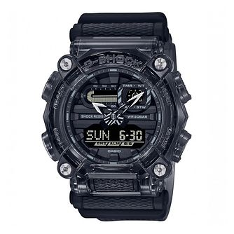 Casio G-Shock Skeleton Men's Grey Rubber Strap Watch - Product number 1267337
