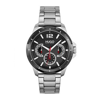 HUGO #SPORT Men's Stainless Steel Bracelet Watch - Product number 1267728