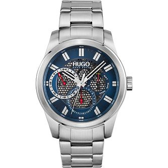 HUGO #SKELETON Men's Stainless Steel Bracelet Watch - Product number 1267752