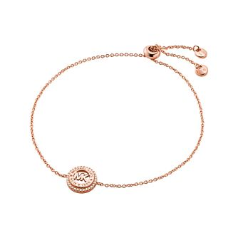 Michael Kors MK Rose Gold Tone Cubic Zirconia Bracelet - Product number 1268120
