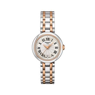 Tissot Bellissima Ladies' Two Tone Bracelet Watch - Product number 1268309