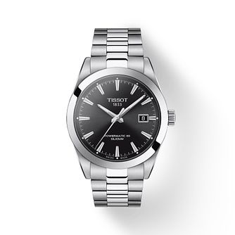 Tissot Gentleman Powermatic Men's Stainless Steel Watch - Product number 1268457