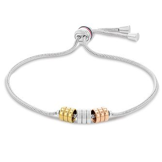 Tommy Hilfiger Ladies' Tri-Colour Bead Adjustable Bracelet - Product number 1269097
