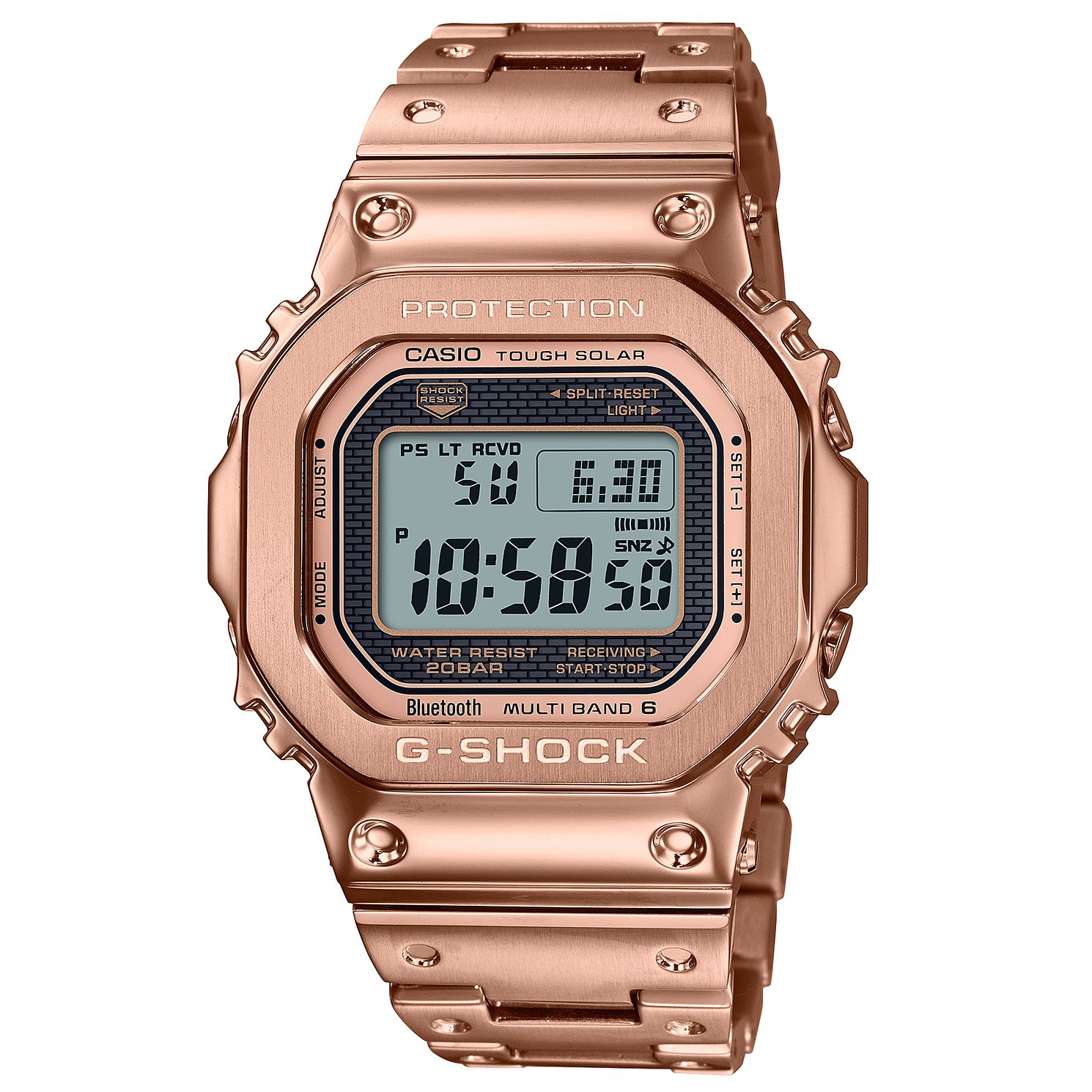 Casio G-Shock Full Metal Men's Rose Gold Tone Bracelet Watch - Product number 1269224