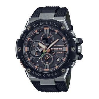 Casio G-Steel Luxury Military Men's Black Rubber Strap Watch - Product number 1269232