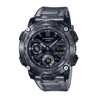 Casio G-Shock Skeleton Men's Grey Resin Strap Watch - Product number 1269240