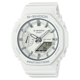 Casio G-SHOCK GMA-S2100-7AER White Silicone Strap Watch - Product number 1269275