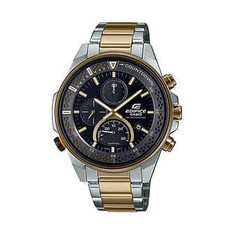 Casio Edifice Men's Two Tone Bracelet Watch - Product number 1269631