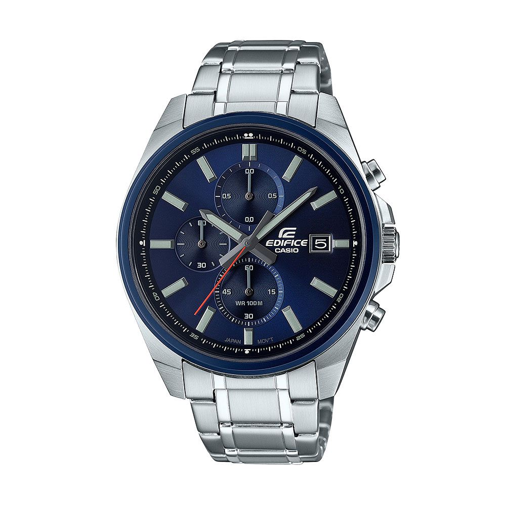 Casio Edifice Chrono Men's Stainless Steel Bracelet Watch - Product number 1269658