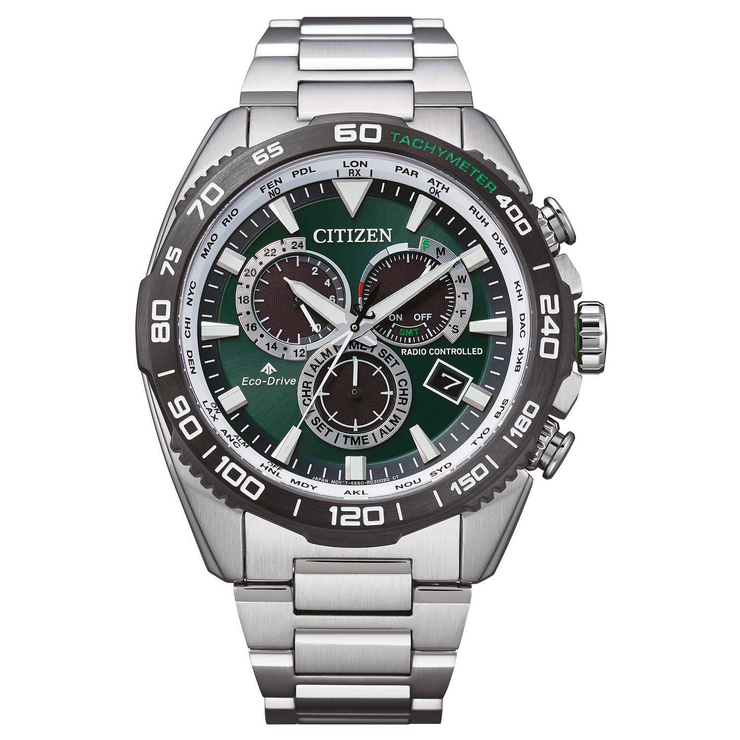 Citizen Promaster Land Men's Stainless Steel Bracelet Watch - Product number 1270559