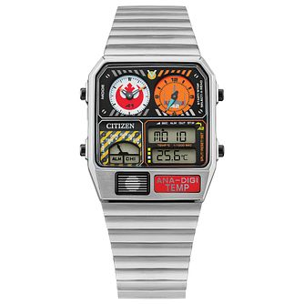 Citizen Star Wars Rebel Pilot Stainless Steel Bracelet Watch - Product number 1270664