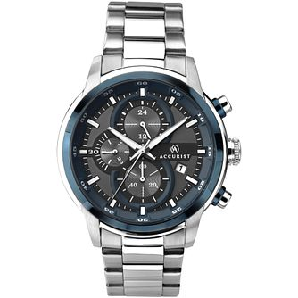 Accurist Chronograph Men's Stainless Steel Bracelet Watch - Product number 1271075