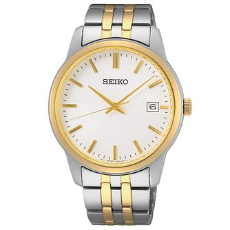 Seiko Quartz Men's Two Tone Bracelet Watch - Product number 1272268