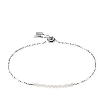 Fossil Vintage Icon Stainless Steel synthetic Pearl Bracelet - Product number 1272888