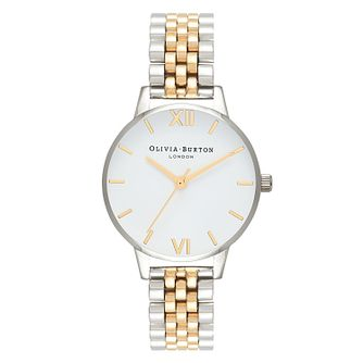 Olivia Burton Ladies' Two Coloured Metal Plated Watch - Product number 1273795
